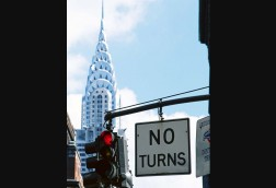 No Turn and Chrysler Building