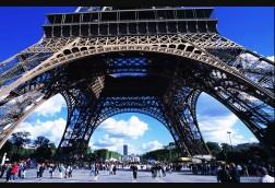 Ground Level at Eiffel Tower