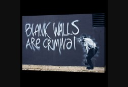Blank Walls are Criminal