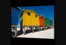 Colorful Cabanas Close Up