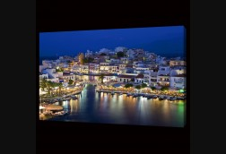 Nighttime, Coast of Crete