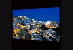 Greek Hillside at Night