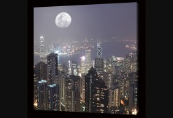 Hong Kong Full Moon